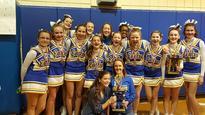 NMS Cheerleaders 1st Place