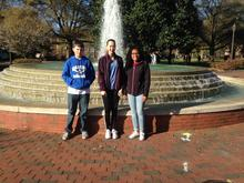 Congratulations Erica, Shawnta, and Will for Third Place at the ECU Math  Competition